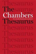 Chambers Thesaurus by Chambers (Ed)